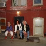 Nora Guthrie, Toni Wright Halker, & Bucky: NYC Woody's Apartment