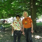 Chris Vallillo and Bucky Halker @ Midwest Folk Festival, 2009