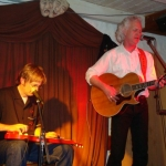 Andy Dee and Bucky Halker in Scharnitz, Austria 2009
