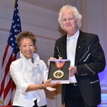 National Endowment for the Art Director Jane Chu and Bucky Halker