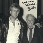 Bucky with Studs Terkel, Chicago, 1986