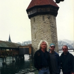 Bucky, Tom, Drew, Lucerne, Switzerland 1999
