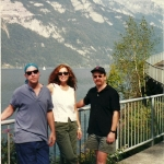 Tom, Toni, Drew in Muhlehorn, Switzerland 1999