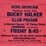Bucky Halker - Club Passim, Cambridge, MA (1997)