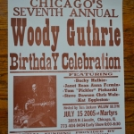 Bucky Halker: Woody Guthrie Birthday Celebration, Chicago (2005)