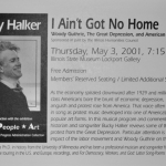 Bucky Halker - IL State Museum Gallery, Lockport, IL (2001)
