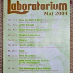 Bucky Halker - Laboratorium, Stuttgart, Germany (2004)