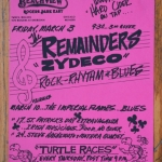 Bucky Halker/The Remainders - Chicago, IL (1989?)