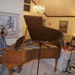 Bucky on the old Steinway